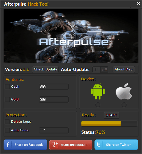 AfterPulse Hack Tool