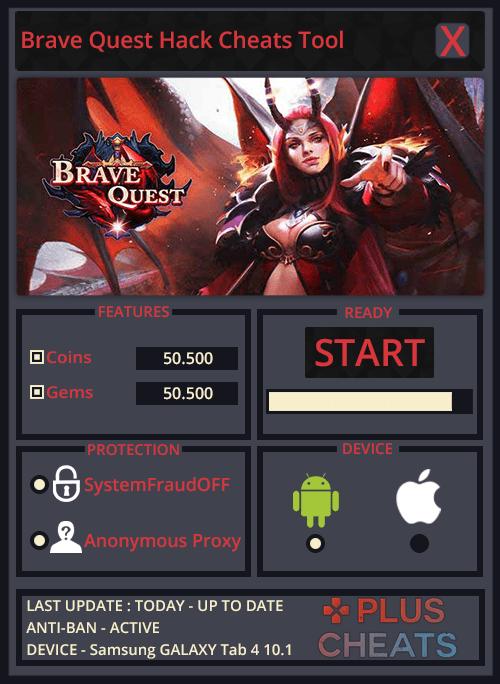 Brave Quest hack