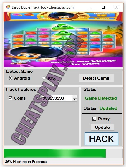 Disco Ducks Hack Tool