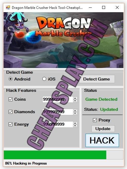 Dragon Marble Crusher Hack Tool