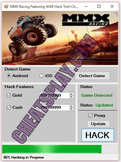 MMX Racing Featuring WWE Hack Tool