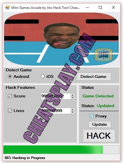 Mini Games Arcade by Jinx Hack Tool