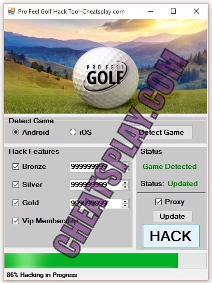 Pro Feel Golf Hack Tool