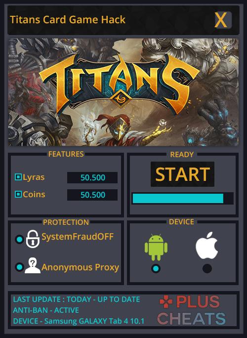 Titans Card Game hack