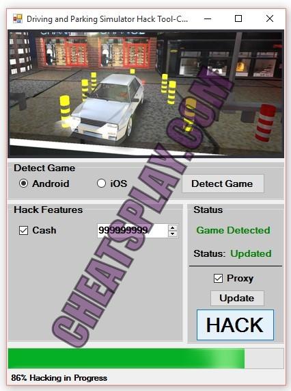 Driving and Parking Simulator Hack Tool