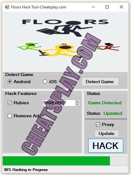 Floors Hack Tool