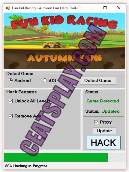 Fun Kid Racing Autumn Fun Hack Tool