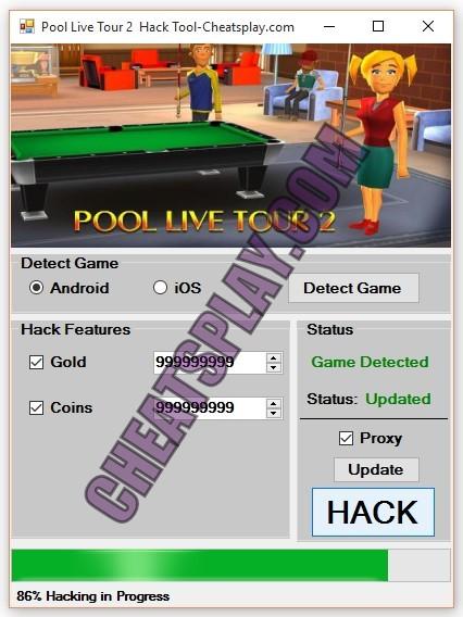 Pool Live Tour 2 Hack Tool