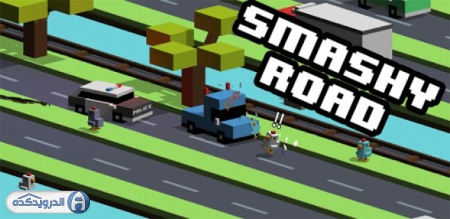 Download overcrowded roads Smashy Road: Wanted v1.1.1 Android - mobile version mode + trailer