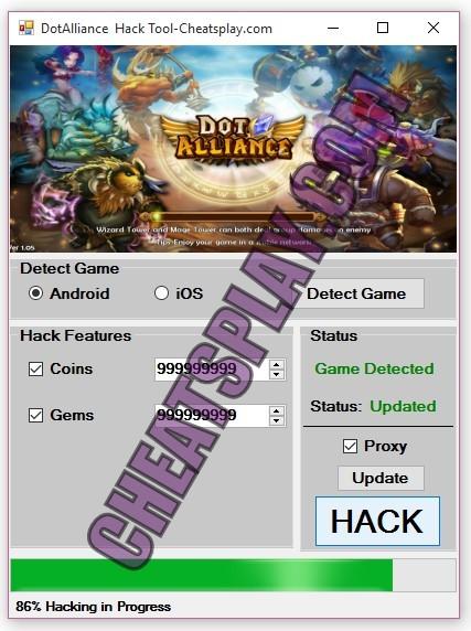 DotAlliance Hack Tool