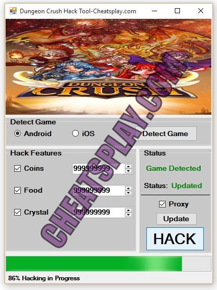 Dungeon Crush Hack Tool