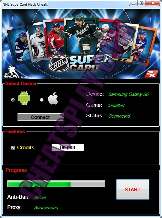 NHL Super Card Hack Tool