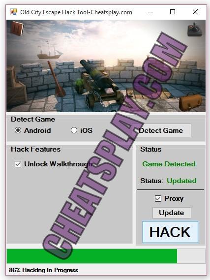 Old City Escape Hack Tool