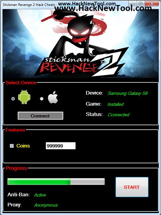 Stickman Revenge 2 Hack New Update
