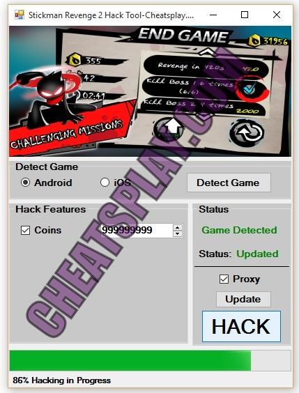 Stickman Revenge 2 Hack Tool