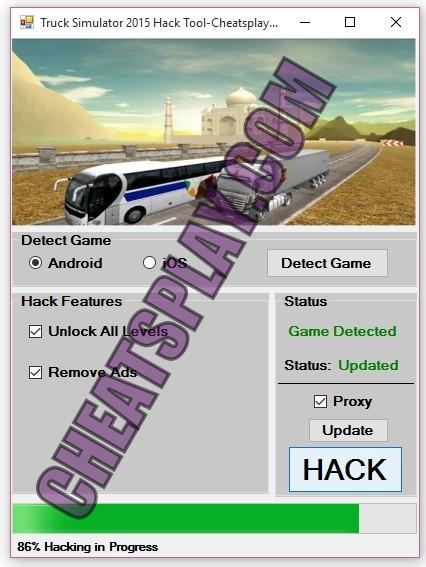 Truck Simulator 2015 Hack Tool