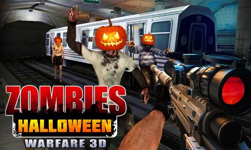 Zombies Halloween warfare 3D