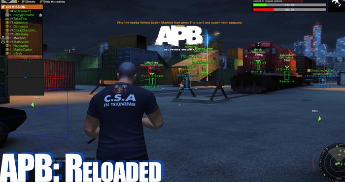 APB: Reloaded Exploits, Hacks or Aimbots