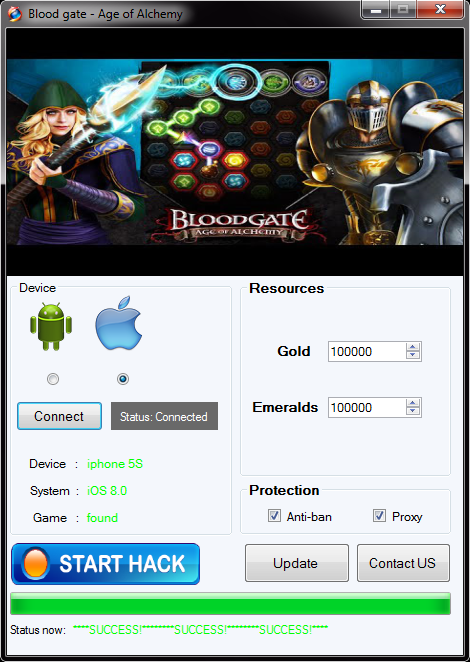 blood gate age of alchemy hack tool image