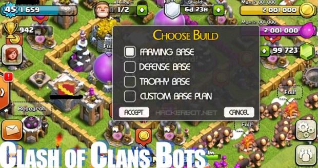 clash of clans bots