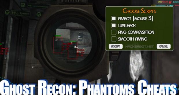 ghost recon phantoms cheats