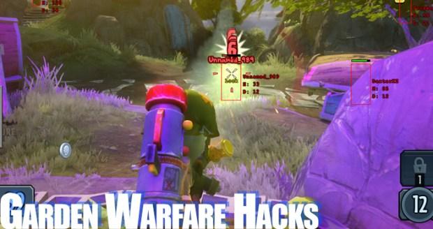 pvz garden warfare hacks