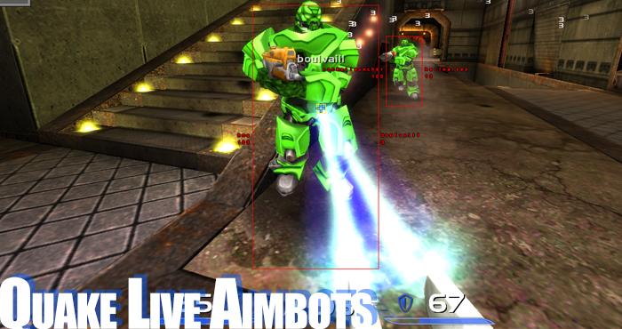 quake live aimbots