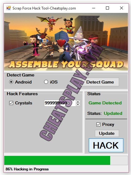 Scrap Force Hack Tool