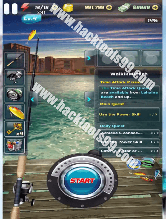Ace Fishing Wild Catch Hack Working Proof