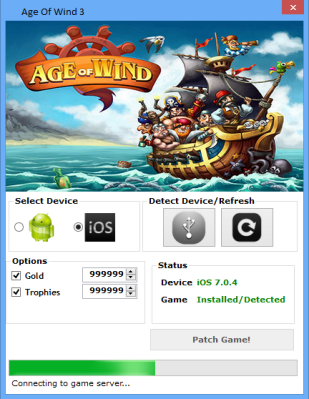 Age of Wind 3 is HACKED
