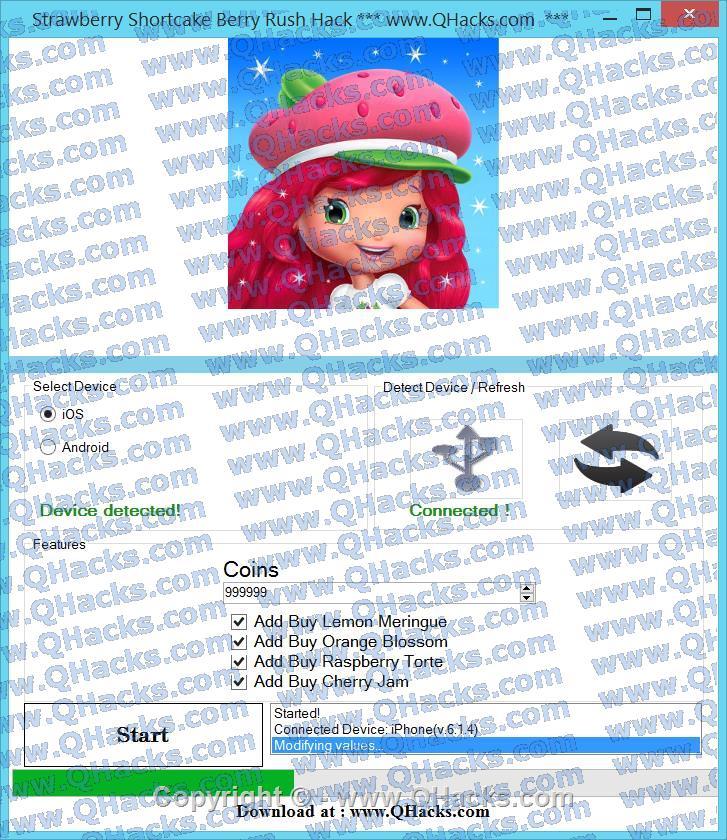 Strawberry Shortcake Berry Rush hacks