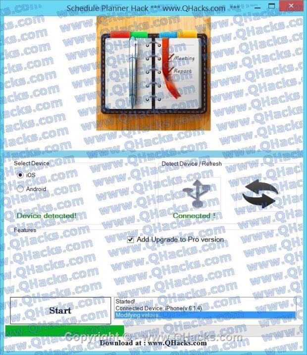 Schedule Planner hacks