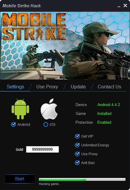 Mobile Strike Hack Tool