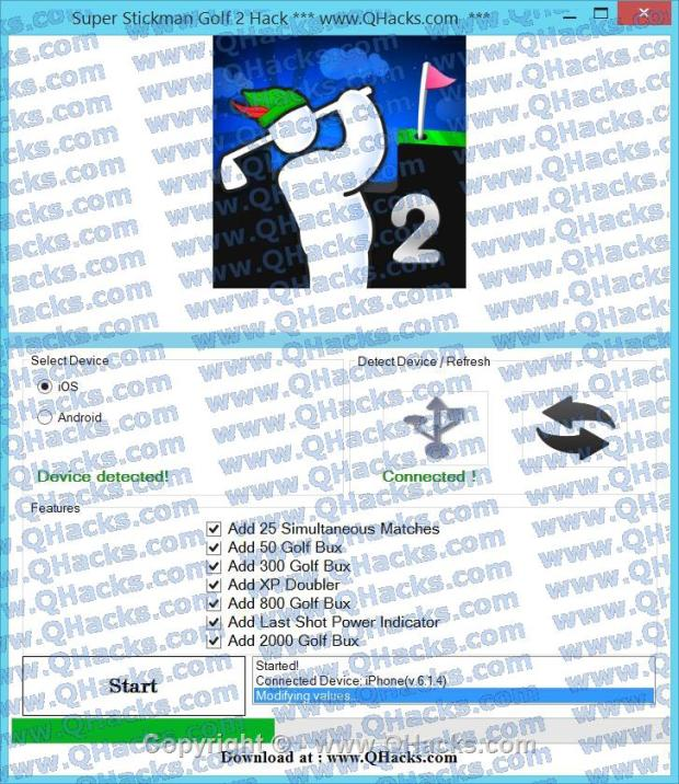 Super Stickman Golf 2 hacks