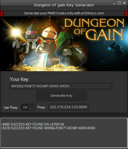 Dungeon of gain cd-key
