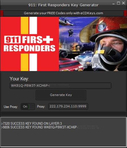 911: First Responders cd-key