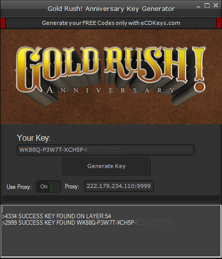 Gold Rush! Anniversary cd-key