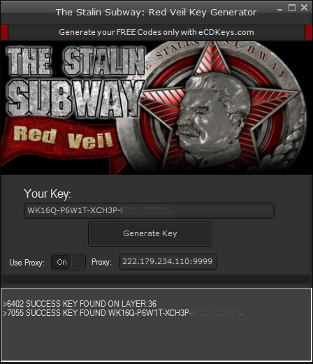 The Stalin Subway: Red Veil cd-key