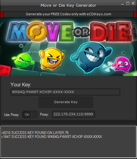 Move or Die cd-key