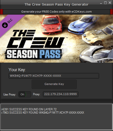 The Crew Season Pass cd-key