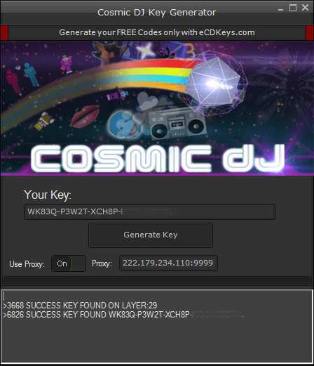 Cosmic DJ cd-key