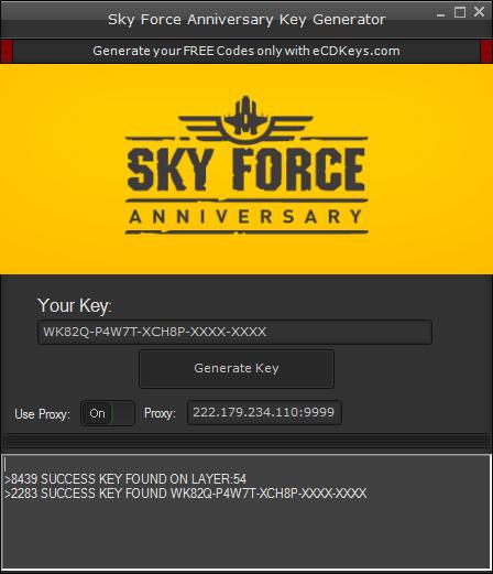 Sky Force Anniversary cd-key