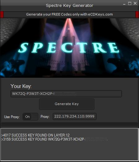 Spectre cd-key