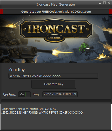 Ironcast cd-key
