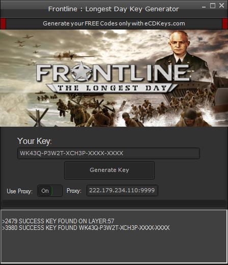 Frontline : Longest Day cd-key