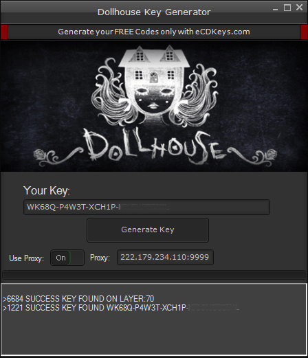 Dollhouse cd-key