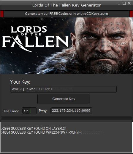 Lords Of The Fallen cd key
