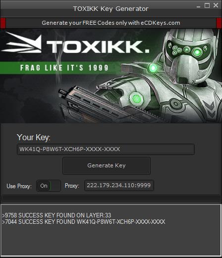 TOXIKK cd-key