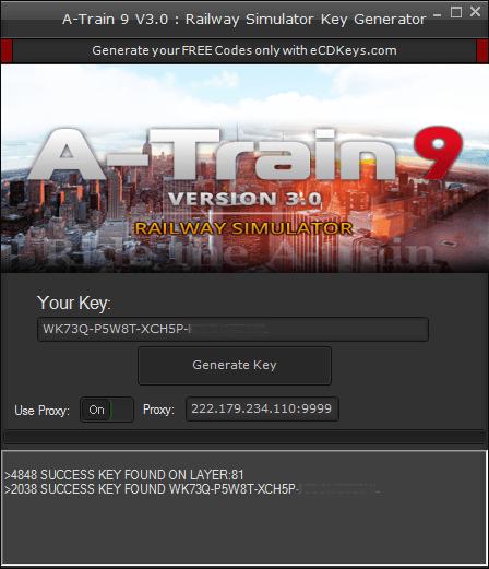 A-Train 9 V3.0 : Railway Simulator cd-key