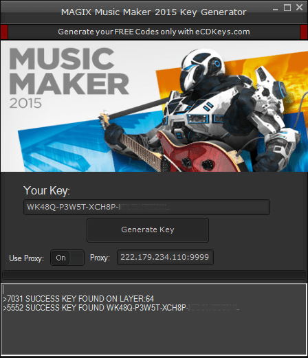 MAGIX Music Maker 2015 cd key